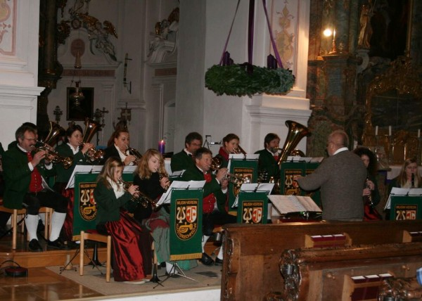 Link zum Artikel «Musikverein umrahmt Abendmesse zum 2. Advent»